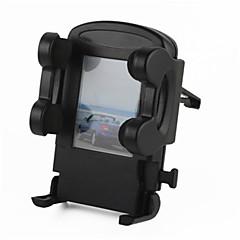 baratos -saída de ar do carro mini-base do suporte universal para celular / gps - preto