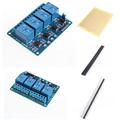 voordelige -4 manieren relais module met optocoupler en toebehoren