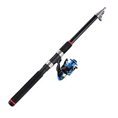 Telespin Rod Telespin Rod Carbon 2.1/2.4/2.7/3.0/3.6 cm Sea Fishing 5/6/7 sections Rod Fast (F) Extra Heavy (XH)