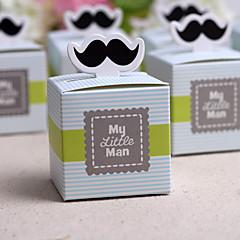 """caixa de """"bigode"""" meu bigode (conjunto de 12) estilo feminino clássico"""