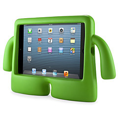 Varten Vedenkestävä / Tuella / Lapsiturvallinen Etui Takakuori Etui Yksivärinen Kova EVA Apple iPad Mini 3/2/1