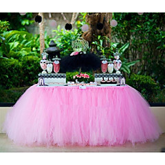 Halloween Birthday Graduation Bridal Shower Prom Baby Shower Christmas Valentine's Day Organza Wedding Decorations Beach Theme Garden