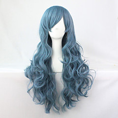 cheap Wigs & Hair Pieces-2015 hot sale long cosplay wigs anime synthetic wigs cosplay party hair wigs long 70cm Halloween