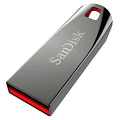 SANDISK Z71 USB 2.0 Flash Drive - Silver + crvena (8GB)