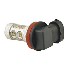 abordables Faros de Coche-H11 Coche Bombillas 60W W SMD LED 800lm lm 12 LED Luz de Casco