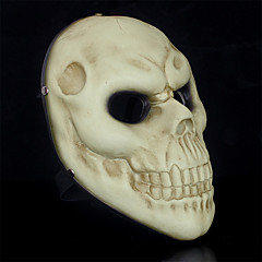 저렴한 -할로윈 의상 파티 월급 날이 두개골 수지 마스크 (1 개)