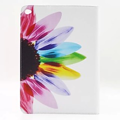Sunflower Flower PU Leather Full Body Case with Stand for iPad (2017) Pro10.5 Pro9.7 iPad Air Air2 iPad234 mini 123 mini4