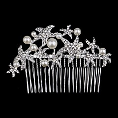 נשים נערת פרחים ריינסטון כיסוי ראש-חתונה אירוע מיוחד נזרים חלק 1
