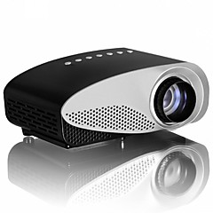 LCD HVGA (480x320) Projektori,LED 120lm Mini Kannettava HD Projektori