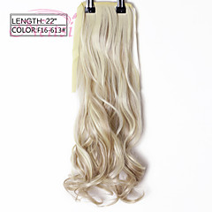 cheap Wigs & Hair Pieces-Cross Type Human Hair Extensions Body Wave Classic Ombre Ponytails Synthetic Hair M2-33# M4-30# M4-33#