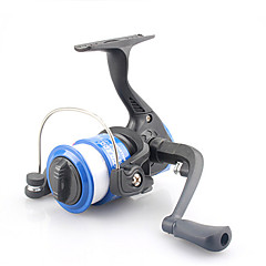 200 Size 5.2:1 3 Ball Bearings Cheap Freshwater Fishing Ice Fishing Carp Spinning Fishing Reels With Line
