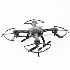 billige Fjernstyrte quadcoptere og multirotorer-RC Drone FQ777 955 4 Kanaler 6 Akse 2.4G Fjernstyrt quadkopter En Tast For Retur / Hodeløs Modus / Flyvning Med 360 Graders Flipp