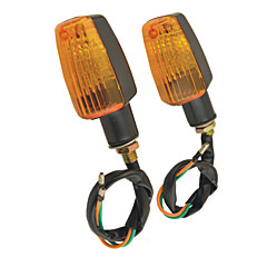 paar plastic behuizing geel geleid motor richtingaanwijzer lampjes voor motorfiets