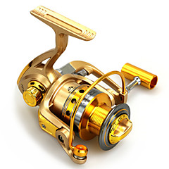 cheap Fishing Reels-Spinning Reels 5.5:1 Gear Ratio+10 Ball Bearings Exchangable Spinning - HF1000/HF2000/HF3000/HF4000