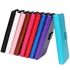 billige Telefoner og nettbrett-Etui Til iPhone 4/4S Apple Heldekkende etui Hard PU Leather til iPhone 4s/4