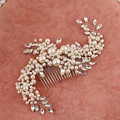 זול תכשיטים לשיער-דמוי פנינה אבן נוצצת מסרקים 1 חתונה אירוע מיוחד כיסוי ראש