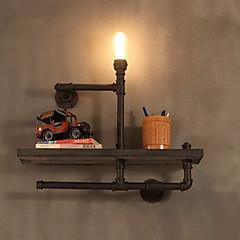 Χαμηλού Κόστους Ξεχωριστές απλίκες-Ρουστίκ/Εξοχικό Λαμπτήρες τοίχου Για Μέταλλο Wall Light 110-120 V 220-240 V 40WW