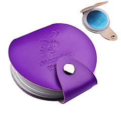 1pcs nail plate case - diameter 5.5cm - Absztrakt - Más - Más - Más dekorációk