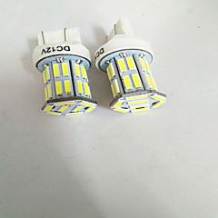 billige Baklys til bil-2pcs T20 (7440,7443) Bil Elpærer W SMD 7020 800-900lm lm 32 Blinklys ForUniversell