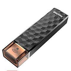 baratos Pen Drive USB-Sandisk conectar wireless stick 32gb, unidade flash sem fio para smartphones, tablets e computadores