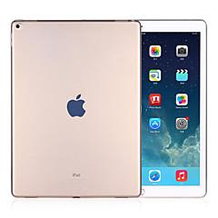 ultra-ohut läpinäkyvä TPU pehmeä liima koko näytön suojapussi iPadille pro 12,9 (eri värejä)