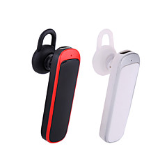 trådløs bluetooth v3.0 headset ørebøylen stil mono øretelefon med mikrofon for iPhone samsung mobiltelefon