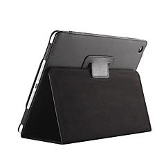 Magnet SelbstWeck- Schlaf Flip Litschi Ledertasche für ipad 2/3/4 Abdeckung Tablette mit freiem Schirmschutz bis + Stift