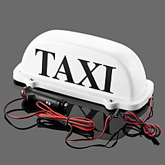 cheap Daytime Running Lights-Iztoss Taxi Cab Top Waterproof LampMagnetic Car Vehicle Indicator Lights  with 2 bulbs as backup