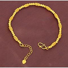 צמידים לנשים שרשרת זהב ללא אבן