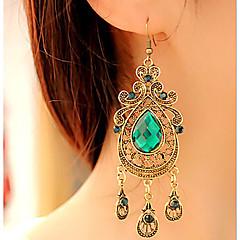 女性 ドロップイヤリング ビンテージ ヴィクトリアン ファッション 欧風 合成宝石類 合金 ドロップ ジュエリー 用途