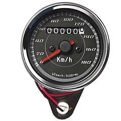 tanie Części do motocykli i quadów-Miernik motocykl licznik kilometrów prędkościomierz wskaźnik dwukolorowe diody podświetlenia