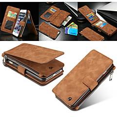 Für iPhone 8 iPhone 8 Plus iPhone 7 iPhone 7 Plus iPhone 6 iPhone 6 Plus iPhone 5 Hülle Hüllen Cover Geldbeutel Kreditkartenfächer mit