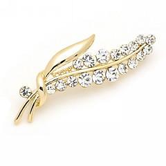 Dámské Brože Módní luxusní šperky Štras Umělé diamanty Slitina Šperky Pro Svatební Párty Zvláštní příležitosti Narozeniny Denní Ležérní