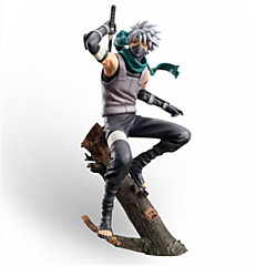 cheap Action & Toy Figures-Anime Action Figures Inspired by Naruto Hatake Kakashi PVC 20 CM Model Toys Doll Toy Men's