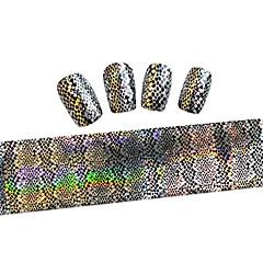billige Negleklistremerker-1 Neglekunst klistremerke Folie  Stripe Tape Tegneserie Smuk Sminke Kosmetikk Neglekunst Design