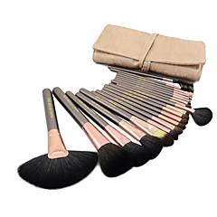 ieftine Cumpără În Funcție de Brand-20pcs Machiaj perii Profesional Seturi perie Perie păr nurcă / Perie din Păr de Capră / Perie cal Grad Înalt Perie Mare / Perie mijlocie / Perie mică / Pensulă din păr de nevăstuică / Perie Deasă