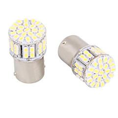 billige Baklys til bil-1156 / BA15s 5w 50 smd hvit LED for bil styring lys / rygge / bremselys (DC12V, 4 stk)