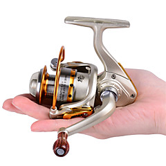 billiga Fiskerullar-Isfiske Rulle 5.2:1 Växlingsförhållande+10 Kullager Hand Orientering utbytbar Kastfiske Isfiske Spinnfiske Färskvatten Fiske Andra
