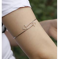 billige Kropssmykker-Armbånd Unikt design, Fest, Fritid Unisex Gull / Sølv Kroppsmykker Til Fest / Bursdag / Gave