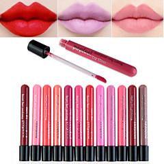 Lipgloss Nat / Mat Vloeistof Vochtigheid / Bedekking / Langdurig / Waterbestendig / Naturel / Snel Drogend / AdemendBeschikbare kleuren /