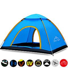 billige Telt og ly-3-4 personer Telt Tredobbelt camping Tent Ett Rom Automatisk Telt Vanntett Fort Tørring Ultraviolet Motstandsdyktig Regn-sikker Støvtett