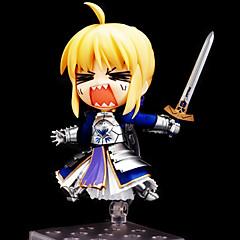 נתוני פעילות אנימה קיבל השראה מ Fate/stay night Saber PVC 10 CM צעצועי דגם בובת צעצוע
