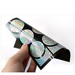 billige Negleklistremerker-1 Diecut Manicure Stencil 3D Nail Acrylic Moulds Blomst Mote Daglig Høy kvalitet