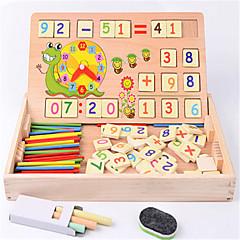 Χαμηλού Κόστους Παιχνίδια εκμάθησης μαθηματικών-Μαθηματικά παιχνίδια Εκπαιδευτικό παιχνίδι Παιχνίδια Διασκέδαση Ξύλο Κλασσικό Κομμάτια Παιδικά Δώρο