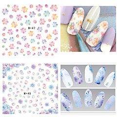 halpa -3D Nail Stickers / Nail Jewelry-PVC-Lovely-Sormi-6.6*7.2-1pcs