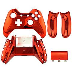 במקרה בקר תחליף בקר Xbox אחד ציפוי זהב / כסף / אדום / ורוד