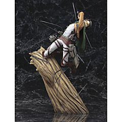 Attack on Titan PVC One Size Anime Action Figures Model Toys Doll Toy 1pc 28cm