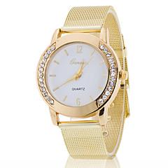 Masculino Mulheres Relógio de Moda Quartzo Relógio Casual Aço Inoxidável Banda Boêmio Prata Dourada Branco Preto