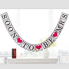 billige Vielsesdekorationer-Bryllup / Jubilæum / Fødselsdag / Forlovelse Perle-papir Bryllup Dekorationer Strand Tema / Have Tema / Asiatisk Tema / Blomster Tema /