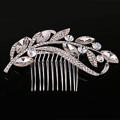 hopea Crystal Pearl hiukset kammat hääjuhlissa Lady korut